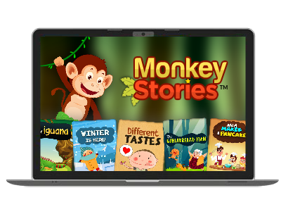 Free download and install Monkey Stories - Free stories for trial